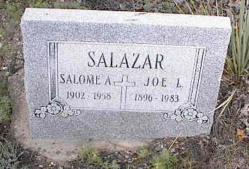 SALAZAR, JOE L. - Chaffee County, Colorado | JOE L. SALAZAR - Colorado Gravestone Photos