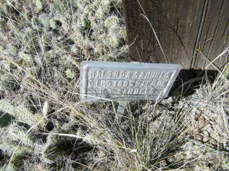 SAMUELS, MALINDA - Chaffee County, Colorado   MALINDA SAMUELS - Colorado Gravestone Photos