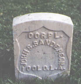 SANDERSON, JOHN S. - Chaffee County, Colorado | JOHN S. SANDERSON - Colorado Gravestone Photos