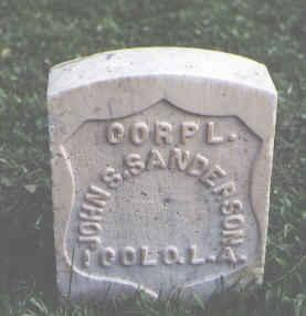 SANDERSON, JOHN S. - Chaffee County, Colorado | JOHN S. SANDERSON - Colorado Gravestone Photos