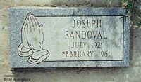SANDOVAL, JOSEPH - Chaffee County, Colorado | JOSEPH SANDOVAL - Colorado Gravestone Photos