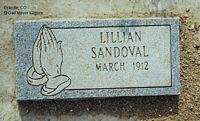 SANDOVAL, LILLIAN - Chaffee County, Colorado | LILLIAN SANDOVAL - Colorado Gravestone Photos