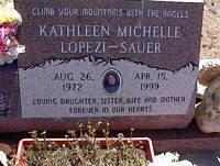 SAUER-LOPEZI, KATHLEEN MICHELLE - Chaffee County, Colorado   KATHLEEN MICHELLE SAUER-LOPEZI - Colorado Gravestone Photos