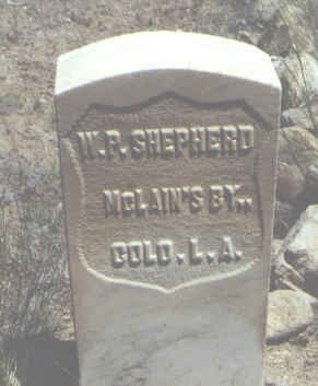 SHEPHERD, W. P. - Chaffee County, Colorado | W. P. SHEPHERD - Colorado Gravestone Photos