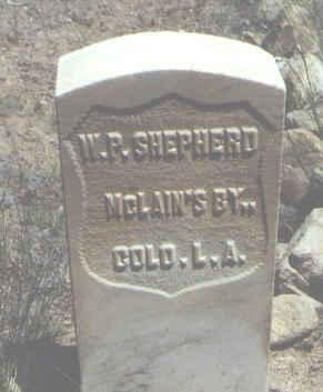 SHEPHERD, W. P. - Chaffee County, Colorado | W. P. SHEPHERD - Colorado Gravestone Photos