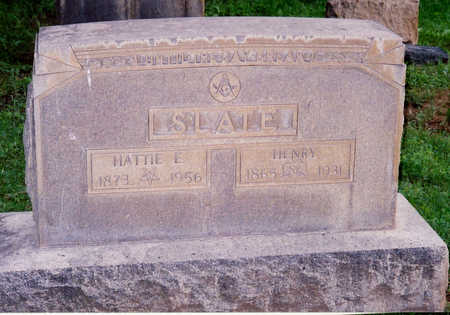 SLATE, HATTIE E. - Chaffee County, Colorado | HATTIE E. SLATE - Colorado Gravestone Photos