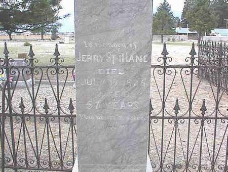 SPILLANE, JERRY - Chaffee County, Colorado | JERRY SPILLANE - Colorado Gravestone Photos