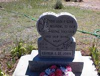 ST. JOHN, ESTHER I. - Chaffee County, Colorado | ESTHER I. ST. JOHN - Colorado Gravestone Photos