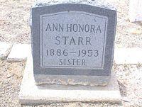 STARR, ANN HONORA - Chaffee County, Colorado | ANN HONORA STARR - Colorado Gravestone Photos