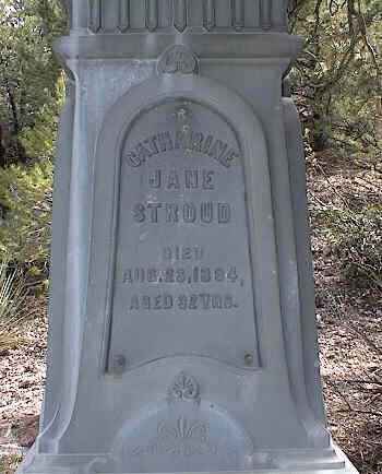 STROUD, CATHERINE JANE - Chaffee County, Colorado | CATHERINE JANE STROUD - Colorado Gravestone Photos