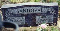 SANDOVAL, SADIE - Chaffee County, Colorado | SADIE SANDOVAL - Colorado Gravestone Photos