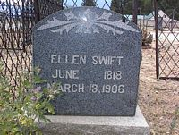 SWIFT, ELLEN - Chaffee County, Colorado | ELLEN SWIFT - Colorado Gravestone Photos