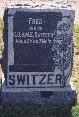 SWITZER, FRED - Chaffee County, Colorado   FRED SWITZER - Colorado Gravestone Photos