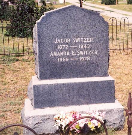 SWITZER, AMANDA E. - Chaffee County, Colorado | AMANDA E. SWITZER - Colorado Gravestone Photos