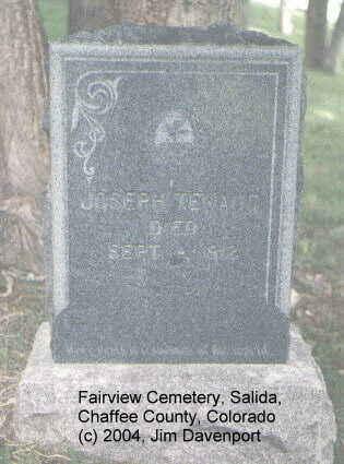 TEKAUG, JOSEPH - Chaffee County, Colorado | JOSEPH TEKAUG - Colorado Gravestone Photos