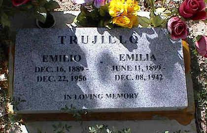 TRUJILLO, EMILIO - Chaffee County, Colorado | EMILIO TRUJILLO - Colorado Gravestone Photos
