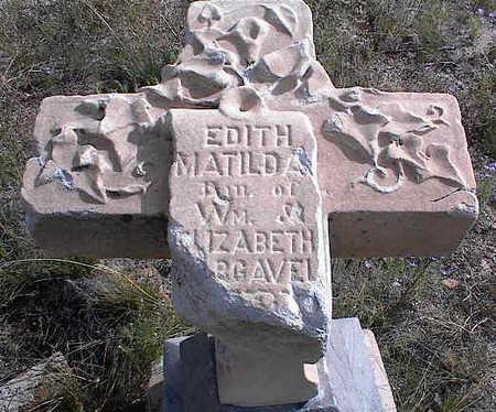 UNKNOWN, EDITH MATILDA - Chaffee County, Colorado | EDITH MATILDA UNKNOWN - Colorado Gravestone Photos
