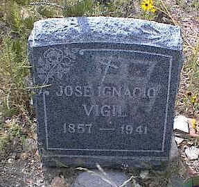 VIGIL, JOSE IGNACIO - Chaffee County, Colorado | JOSE IGNACIO VIGIL - Colorado Gravestone Photos