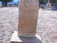 WATERS, BELLE - Chaffee County, Colorado | BELLE WATERS - Colorado Gravestone Photos