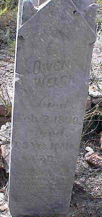WELCH, OWEN - Chaffee County, Colorado | OWEN WELCH - Colorado Gravestone Photos