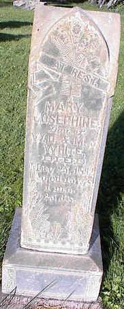 WHITE, MARY JOSEPHINE - Chaffee County, Colorado | MARY JOSEPHINE WHITE - Colorado Gravestone Photos