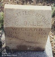 WILLARD, C. DALE - Chaffee County, Colorado   C. DALE WILLARD - Colorado Gravestone Photos