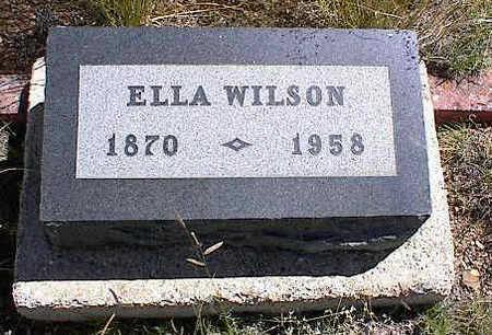 BERTSCHY WILSON, ELLA MUNSELL - Chaffee County, Colorado | ELLA MUNSELL BERTSCHY WILSON - Colorado Gravestone Photos