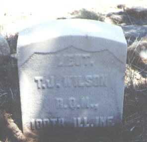 WILSON, T. J. - Chaffee County, Colorado | T. J. WILSON - Colorado Gravestone Photos