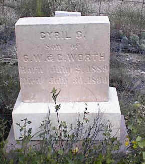 WORTH, CYRIL G. - Chaffee County, Colorado | CYRIL G. WORTH - Colorado Gravestone Photos