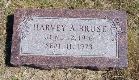 BRUSE, HARVEY A - Cheyenne County, Colorado | HARVEY A BRUSE - Colorado Gravestone Photos