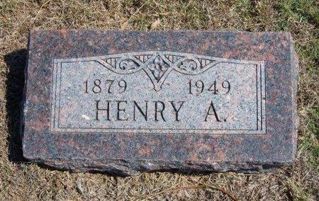 BRUSE, HENRY A - Cheyenne County, Colorado | HENRY A BRUSE - Colorado Gravestone Photos