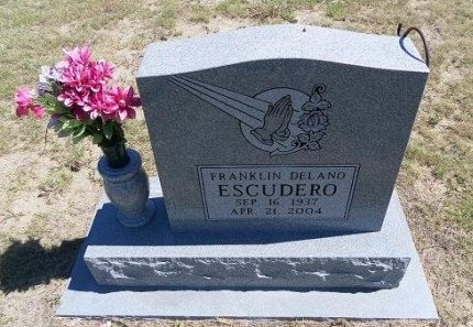 ESCUDERO, FRANKLIN DELANO - Cheyenne County, Colorado | FRANKLIN DELANO ESCUDERO - Colorado Gravestone Photos