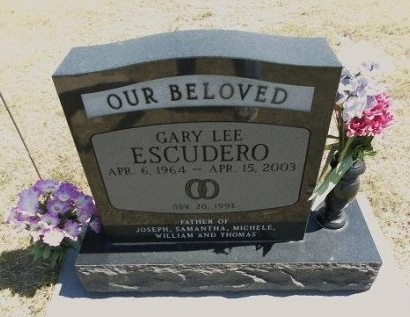 ESCUDERO, GARY LEE - Cheyenne County, Colorado | GARY LEE ESCUDERO - Colorado Gravestone Photos
