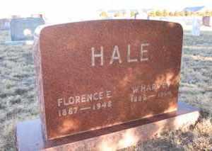 HALE, WILLIAM HARVEY - Cheyenne County, Colorado   WILLIAM HARVEY HALE - Colorado Gravestone Photos