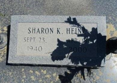 HEINZ, SHARON K - Cheyenne County, Colorado | SHARON K HEINZ - Colorado Gravestone Photos