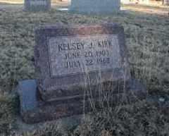 KIRK, KELSEY J - Cheyenne County, Colorado   KELSEY J KIRK - Colorado Gravestone Photos