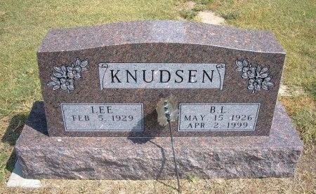 KNUDSEN, BOBBY LEON - Cheyenne County, Colorado | BOBBY LEON KNUDSEN - Colorado Gravestone Photos