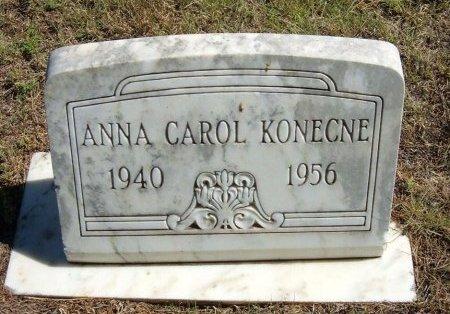 KONECNE, ANNA CAROL - Cheyenne County, Colorado | ANNA CAROL KONECNE - Colorado Gravestone Photos