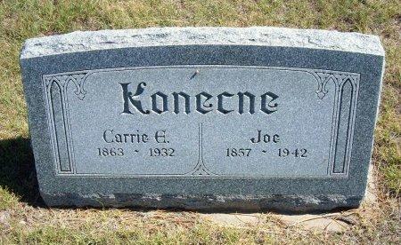 KONECNE, JOE - Cheyenne County, Colorado | JOE KONECNE - Colorado Gravestone Photos