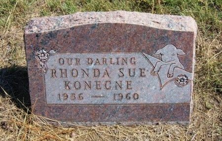 KONECNE, RHONDA SUE - Cheyenne County, Colorado | RHONDA SUE KONECNE - Colorado Gravestone Photos
