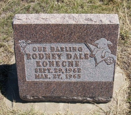 KONECNE, RODNEY DALE - Cheyenne County, Colorado | RODNEY DALE KONECNE - Colorado Gravestone Photos