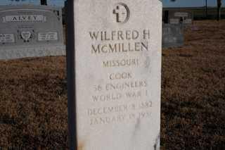 MCMILLEN, WILFRED - Cheyenne County, Colorado   WILFRED MCMILLEN - Colorado Gravestone Photos