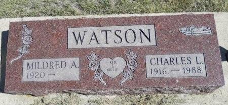 WATSON, CHARLES L - Cheyenne County, Colorado   CHARLES L WATSON - Colorado Gravestone Photos