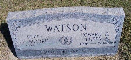 "WATSON, HOWARD E ""TUFFY"" - Cheyenne County, Colorado | HOWARD E ""TUFFY"" WATSON - Colorado Gravestone Photos"