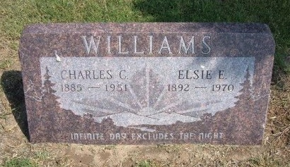 WILLIAMS, CHARLES C - Cheyenne County, Colorado | CHARLES C WILLIAMS - Colorado Gravestone Photos