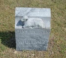 WILLIAMS, CHARLES IVAN - Cheyenne County, Colorado | CHARLES IVAN WILLIAMS - Colorado Gravestone Photos