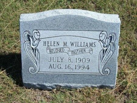 WILLIAMS, HELEN M - Cheyenne County, Colorado | HELEN M WILLIAMS - Colorado Gravestone Photos