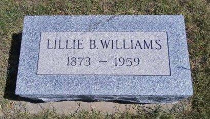 WILLIAMS, LILLIE B - Cheyenne County, Colorado | LILLIE B WILLIAMS - Colorado Gravestone Photos