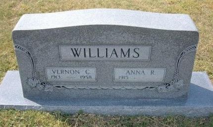 WILLIAMS, VERNON C - Cheyenne County, Colorado | VERNON C WILLIAMS - Colorado Gravestone Photos