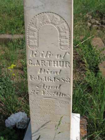 ARTHUR, ELIZABETH - Clear Creek County, Colorado | ELIZABETH ARTHUR - Colorado Gravestone Photos